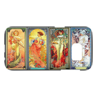 The Four Seasons series 3 by Mucha