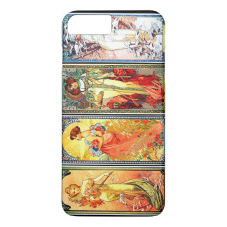 The Four Seasons series 3 by Mucha iPhone 7 Plus Case