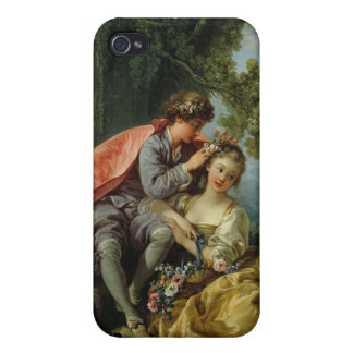 The Four Seasons, Spring - François Boucher Cover For iPhone 4