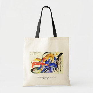 The Four Service Dogs Of Prince Jusuff Tote Bags