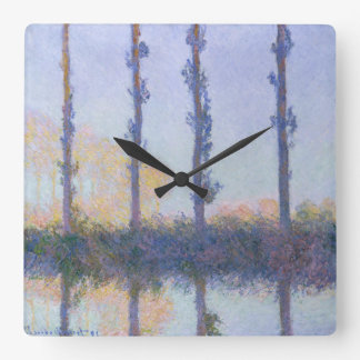 The Four Trees Square Wall Clock