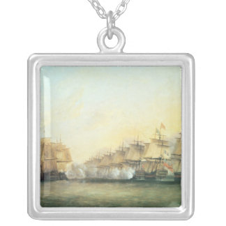 The fourth action off Trincomalee Silver Plated Necklace