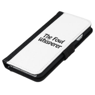 the fowl whisperer iPhone 6 wallet case