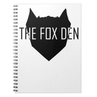 """""""The Fox Den"""" Notebook"""