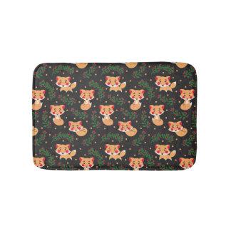 The Fox Pattern Bath Mat
