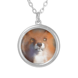 The Fox Silver Plated Necklace