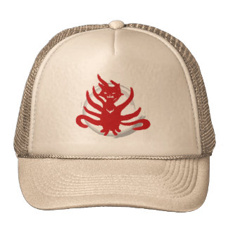 The fox with nine tails (evil) mesh hat