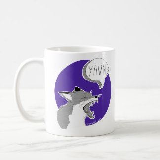 The Fox *Yawn* - Mug purple