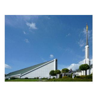 The Frankfurt Germany LDS Temple Postcard