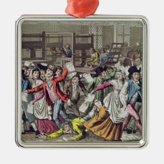 The Freedom of the Press, 1797 Metal Ornament