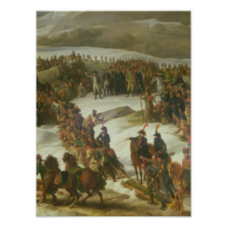 The French Army Crossing the St. Bernard Pass Poster