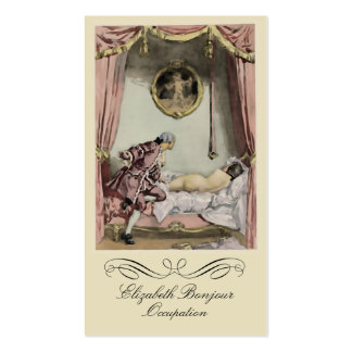 The French Bed ~ Business Card