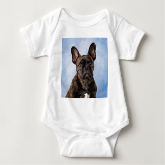 The French Bulldog Baby Bodysuit