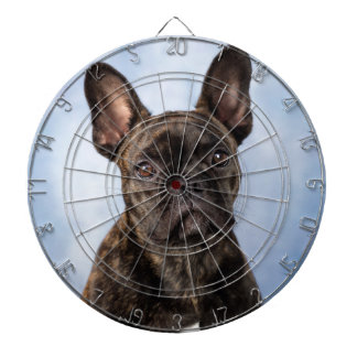 The French Bulldog Dartboard