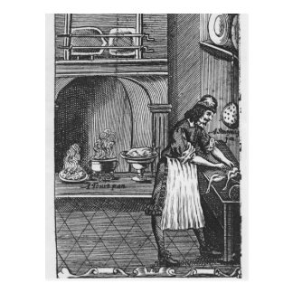 'The French Cook' by La Varenne Postcard