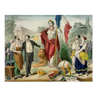 The French Republic Postcard