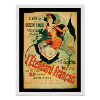'The French Standard', poster advertising the 'Ate
