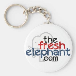 The Fresh Elephant Keychain