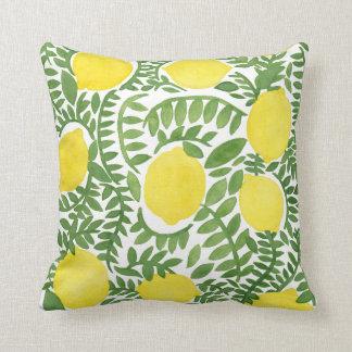 The Fresh Lemon Tree Cushion