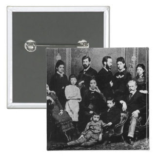 The Freud Family c 1876 Pinback Buttons