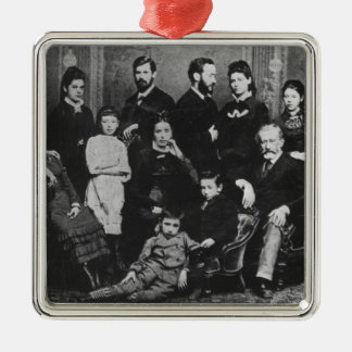 The Freud Family, c.1876 Metal Ornament
