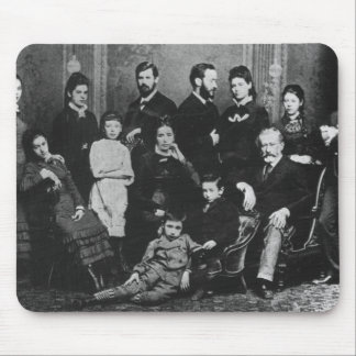 The Freud Family, c.1876 Mouse Pad