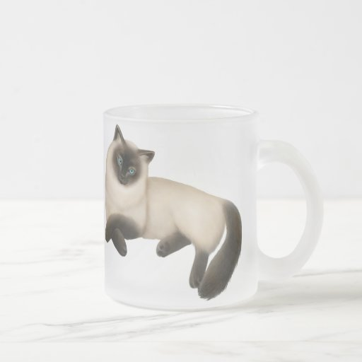 The Friendly Himalyan Cat Mug
