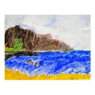 The Friendly Isle Postcard