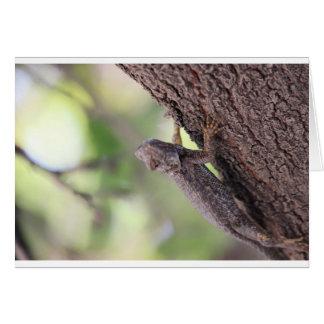 The Friendly Lizard Greeting Card
