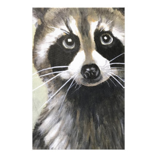 The Friendly Raccoon Stationery