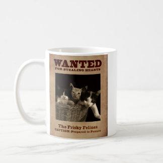 The Frisky Felines Coffee Mug