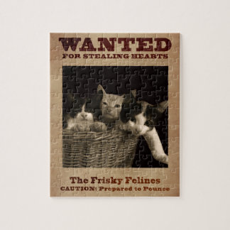 The Frisky Felines Jigsaw Puzzle