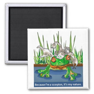 The Frog and Scorpion Refrigerator Magnets