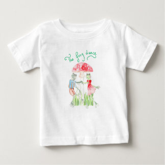 """The frog Dance"" Baby Fine Jersey T shirt"