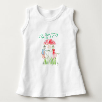 """The frog Dance"" Baby Sleeveless Dress"