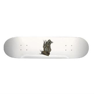 The Frog Prince. 21.3 Cm Mini Skateboard Deck