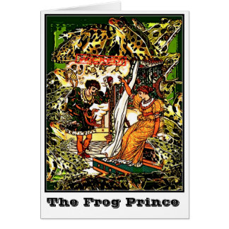 The Frog Prince Card