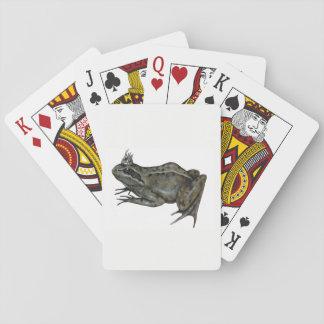 The Frog Prince. Poker Deck