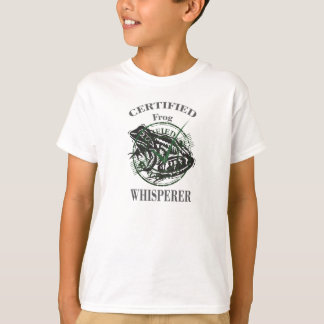 The Frog Whisperer - Frog Lover T-Shirt