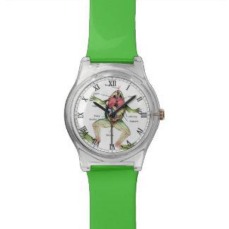 The Frog's Anatomy Illustration Watch