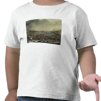 The Frost Fair of the winter of 1683-4 on the Tham Tee Shirts