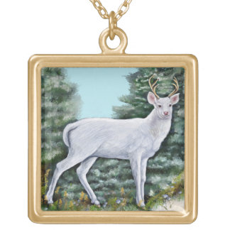 The Frost Hart Gold Plated Necklace