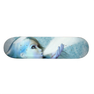 The Frost maiden Fantasy Skateboard