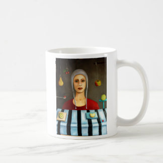 The fruit collector, The Fruit Collector, By Le... Coffee Mug
