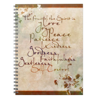 The Fruit of the Spirit Notebook