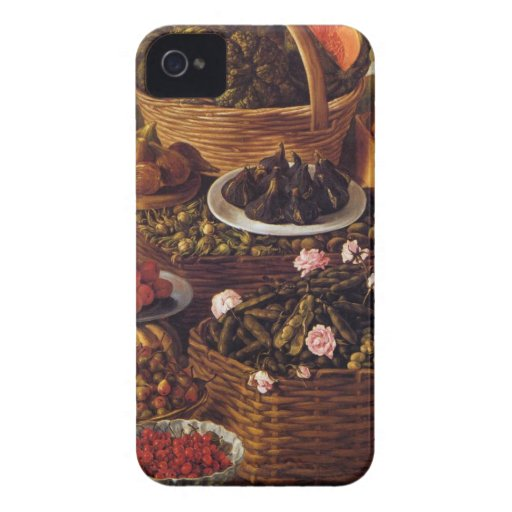 The Fruit Seller in detail by Vincenzo Campi Blackberry Bold Cover