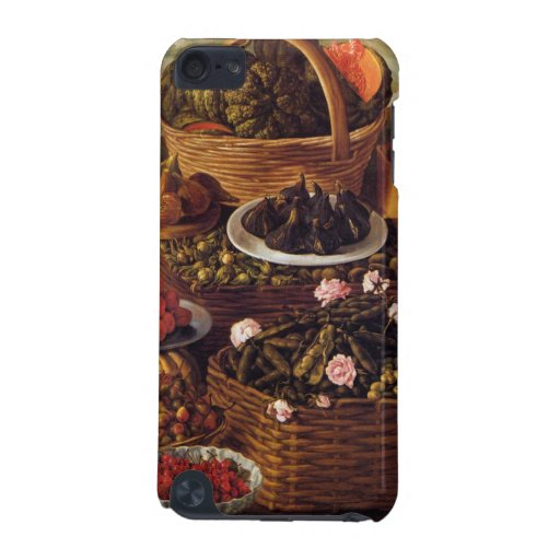 The Fruit Seller in detail by Vincenzo Campi iPod Touch (5th Generation) Covers