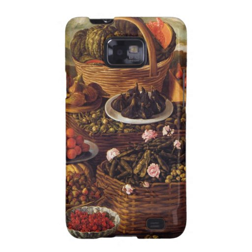 The Fruit Seller in detail by Vincenzo Campi Galaxy SII Cover