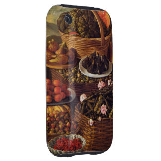 The Fruit Seller in detail by Vincenzo Campi iPhone 3 Tough Cases