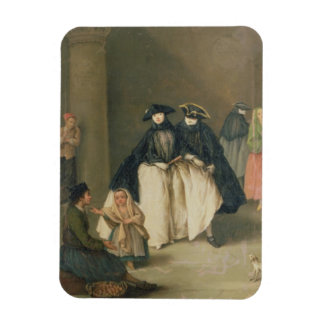 The Fruit Seller Rectangular Photo Magnet